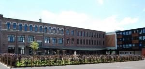 Cour du lycée