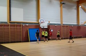 Salle de sport (basket)