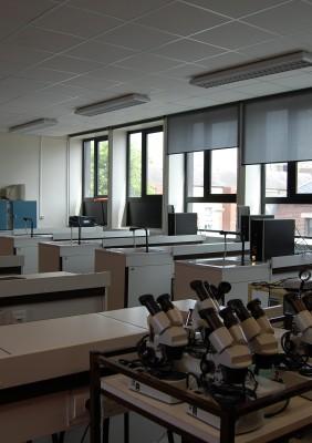 salle sciences en SVT