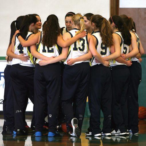 Equipe de filles basket