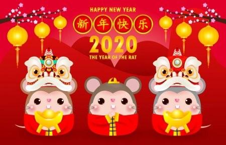 Menu du nouvel an chinois